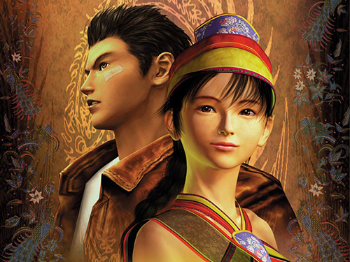 Shenmue, un des titres phares de la console de SEGA.