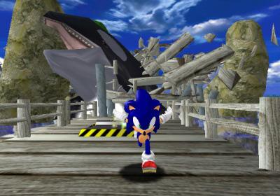 Sonic Adventure rehausse les ventes de la Dreamcast.