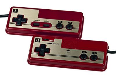 La manette joueur 2 est équipée d'un microphone.
