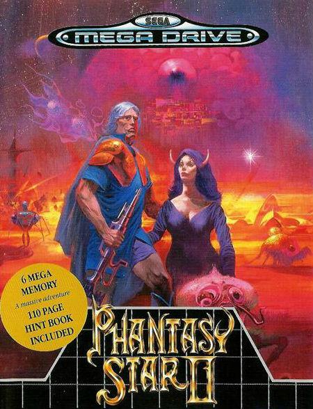 Phantasy Star II sort finalement sur Mega Drive.