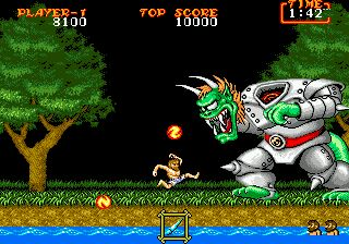 Ghouls'n Ghosts, une collaboration avec Capcom.