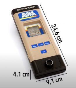Dimensions de la MicroVision