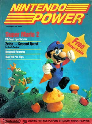 Nintendo Power, un magazine culte.