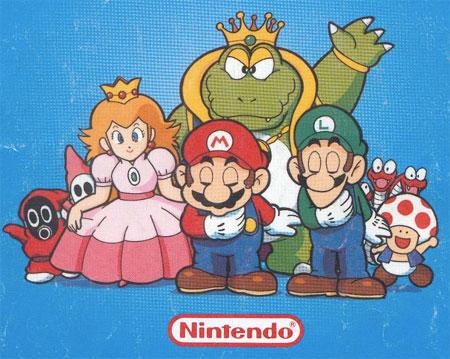 L'univers de Mario reçoit un très bon accueil en Europe.