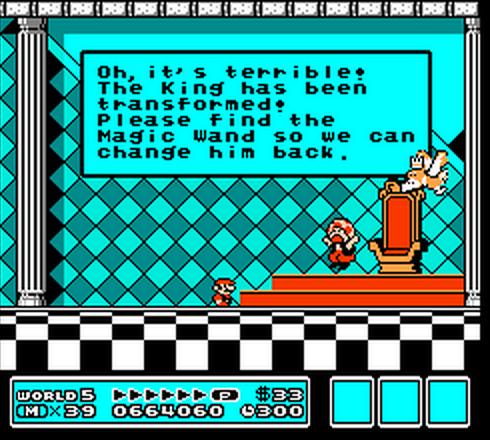 Il n'y a pas de traductions locales en Europe, les jeux NES sont en anglais.