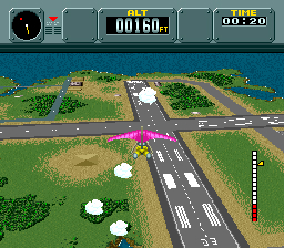 Pilotwings bénéficie du mode graphique 7.