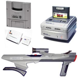 Le Super Game Boy, le Satellaview, le Nintendo Power et le Nintendo Scope.