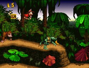 Le titre Donkey Kong Country développé par Rare, le début d'une licence culte !