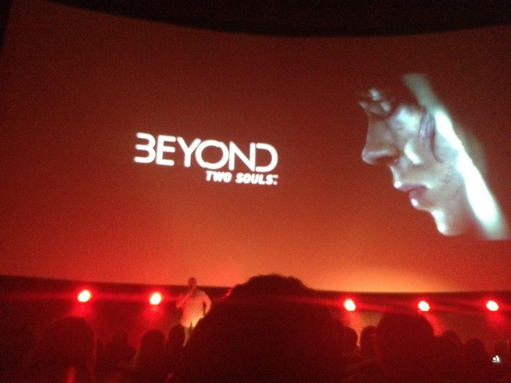 Écran principal de la présentation de Beyond