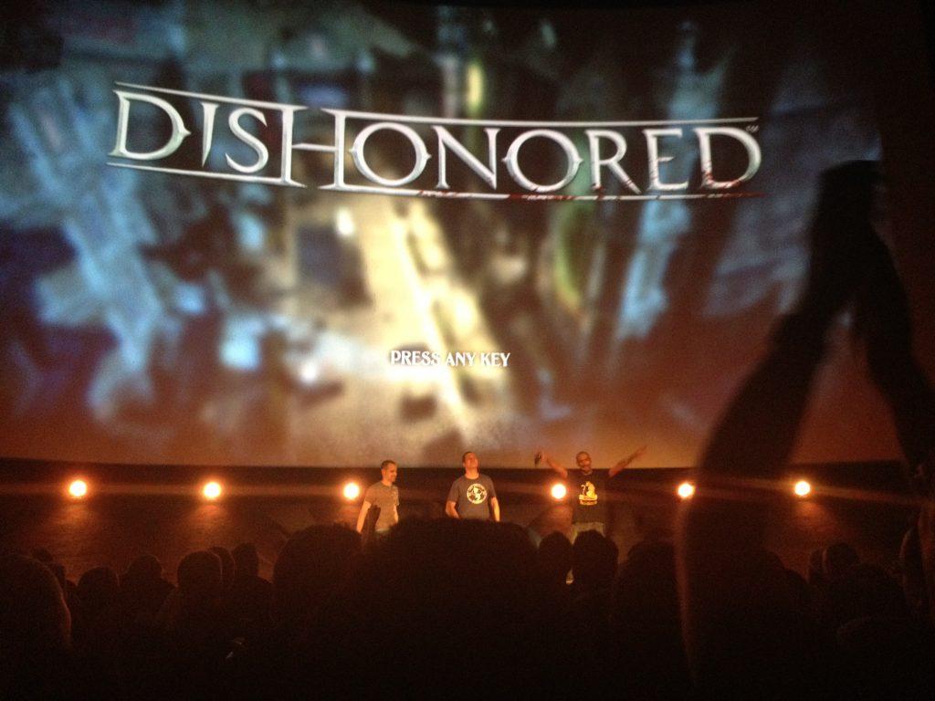 Ecran de Dishonored
