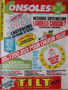 Tilt/Consoles+ Novembre 1992