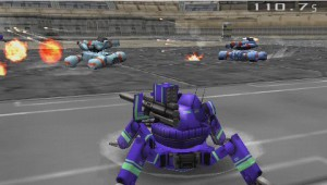 """Un """"multipatte"""" contre deux type """"tank"""". Si votre programme est bon, vous pouvez espérer gagner à 1 contre tous !"""