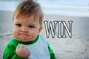 Just win