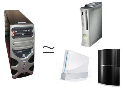 les ordinateurs remplacent la console