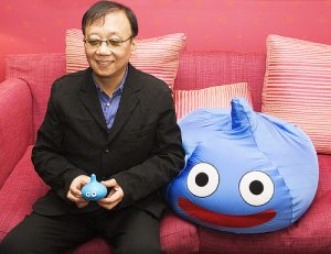 Yuji Horii et le Blue Slime
