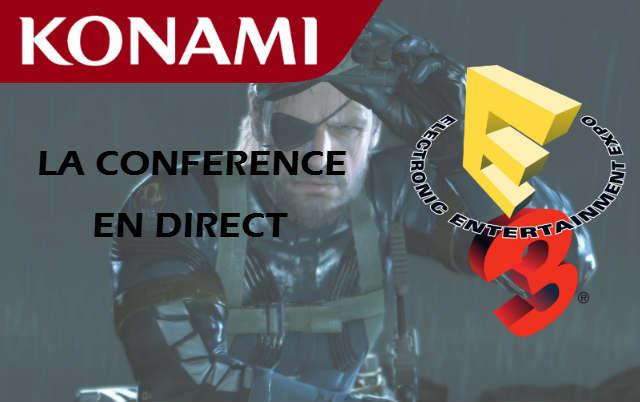 E3 2013 : la conférence Konami en direct