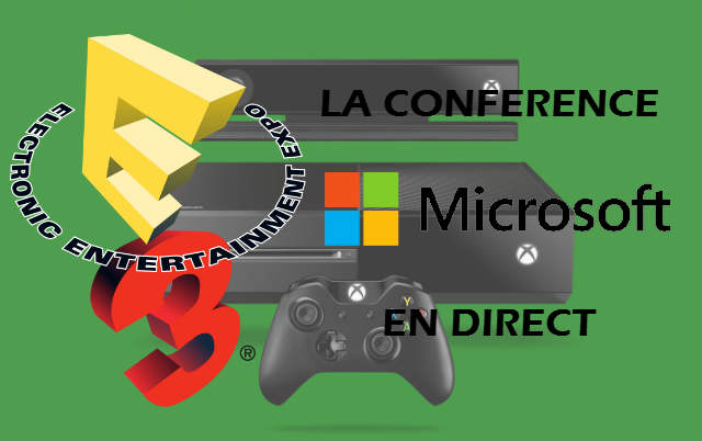 E3 2013 : La conférence Microsoft en direct