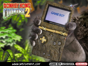 Game Boy Advance SP Donkey Kong Country  2