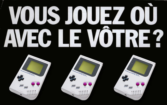 Pubs d'antan Game Boy