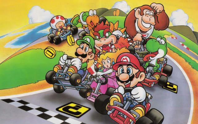 Mario Kart - pubs d'antan