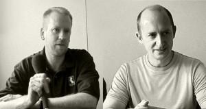 Les frères Stamper, créateurs du studio