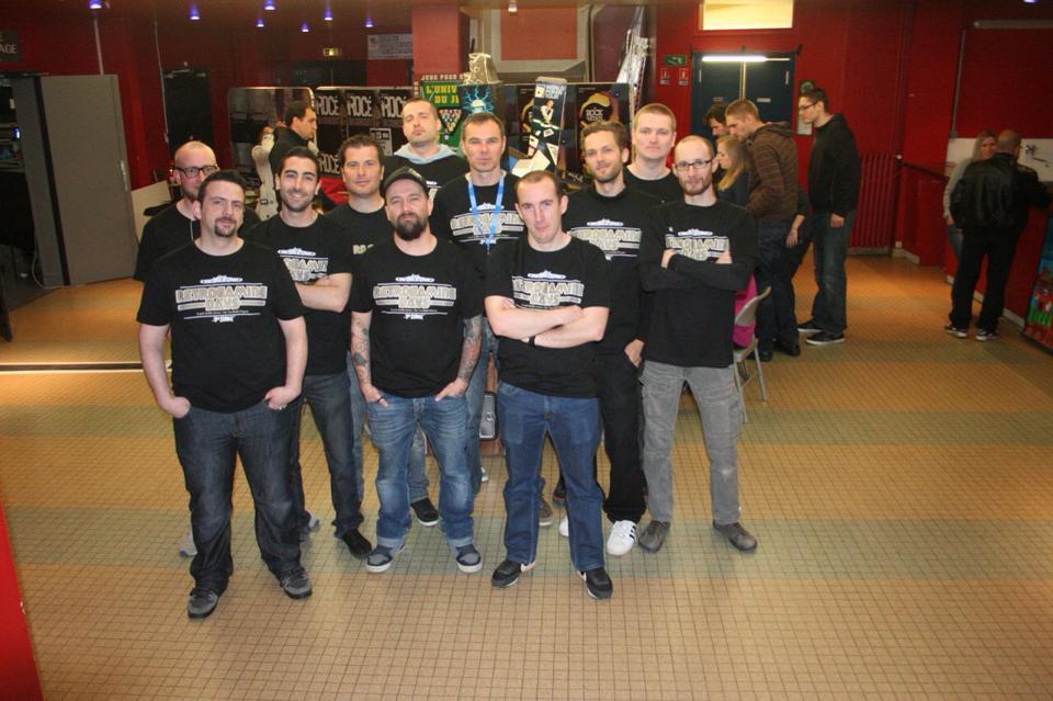 Le staff des RGD (Crédit photo Claude Murray)