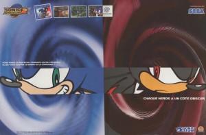 Sonic, version dreamcast !
