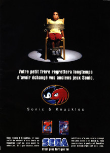 Sonic & Knuckles et le système « lock-on technology »