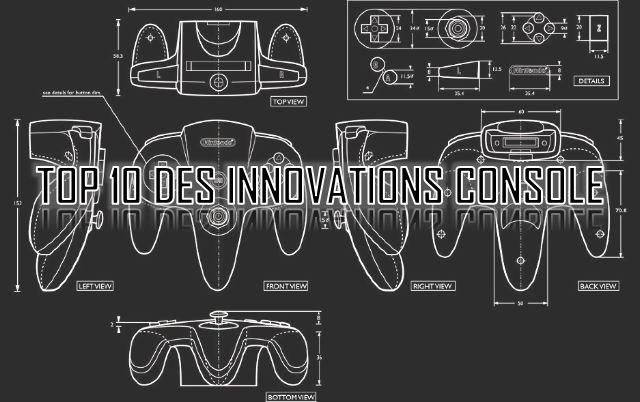 TOP 10 des meilleures innovations console