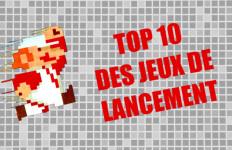 Top 10 des jeux de lancement