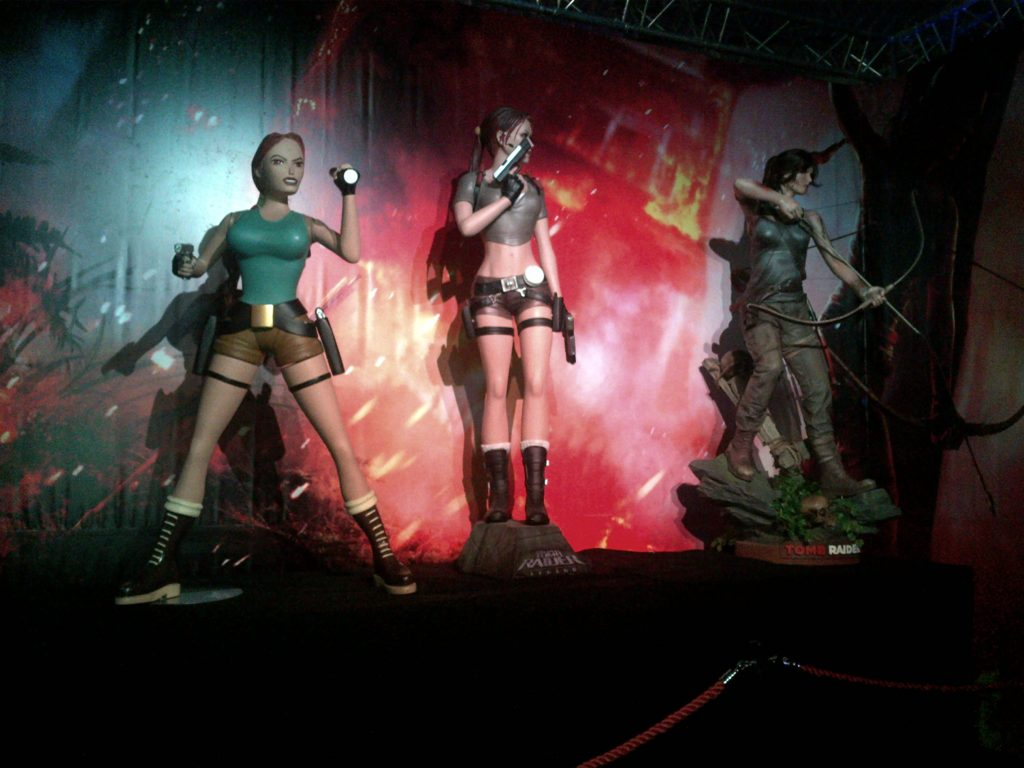 Évolution de Lara Croft