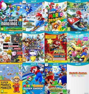 Les possesseurs de Wii U comptent les jeux Mario pour s'endormir.
