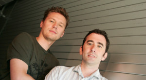 Christophe Balestra et Evan Wells, présidents actuels de naughty Dog