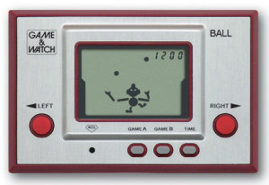 Ball, le premier Game & Watch