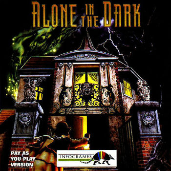 La jaquette du premier Alone in the Dark