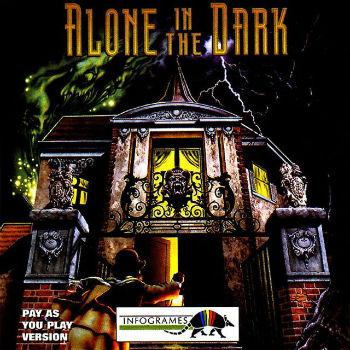 La jaquette du premier Alone in the Dark