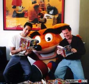 Jason Rubin et Andy Gavin, fondateurs du studio